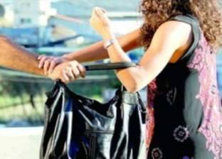 """عاطلان يخطفان حقيبة يد """"مدرسة"""" في الشارع بالخانكة"""