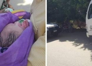 """""""مكتوب له يعيش""""..العثور على طفل بعد 6 ساعات من ولادته بجوار مسجد بإسنا"""