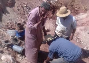 """إحلال خطوط مياه الشرب """"الاسبستوس""""بطول 8 كم في الوادي الجديد"""