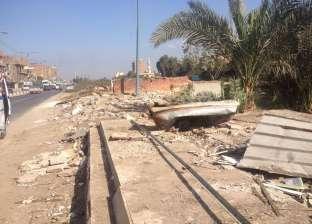 إزالة 68 كشك لحوم بقرية طنامل بالدقهلية بعد 60 عاما على التعديات