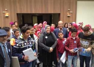 """""""الدمج الثقافي"""".. أطفال الوادي الجديد في نقابة الصحفيين ومتحف التحرير"""