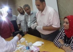 """استمرار التدريبات على أعمال المسح الشامل لفيروس """"سي"""" بجنوب سيناء"""