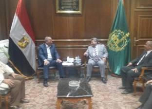 رئيس جامعة بنها يتفق مع المحافظ على تدشين المستشفى الجامعي الجديد
