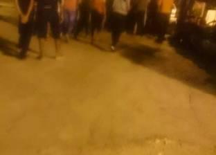 """طلاب """"مدينة موط"""" بالوادي الجديد ينظمون وقفة احتجاجية بسبب عدم صرف الوجبات الغذائية"""
