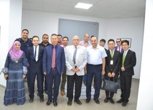 """رئيس """"مياه الشرقية"""" يلتقي مسؤولي شركة """"ZK teco"""" للأنظمة الأمنية"""