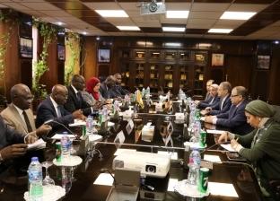 نائب وزير الكهرباء يبحث سبل التعاون مع وزير البترول الإيفواري