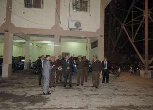 بالصور  مدير أمن الفيوم يتفقد قوات النجدة وقسم شرطة المركبات