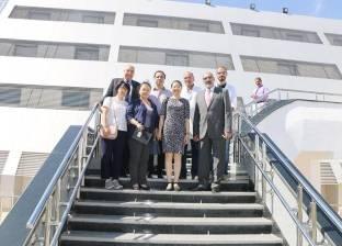 بالصور  وفد من السفارة الصينية يزور شرم الشيخ