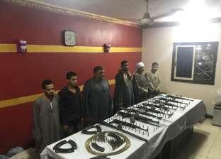 ضبط 37 قطعة سلاح في سوهاج خلال حملة أمنية