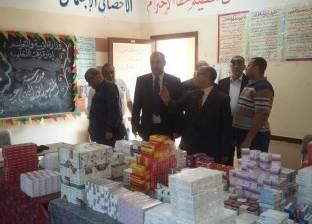 """""""الصحة"""": القوافل الطبية أجرت الكشف على 2631 مواطن بكفر الشيخ"""