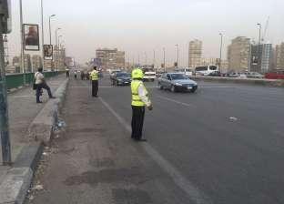 """""""مرور القاهرة"""" إغلاق محور الشهيد بمدينة نصر"""