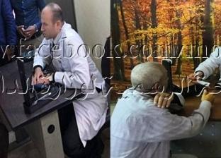 قافلة طبية تجري الكشف على نزلاء أقسام بورسعيد