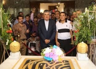 نجل عبدالناصر: مشروع الزعيم الراحل يُطبق حاليا في مصر