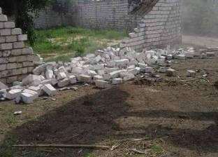 إزالة 18 حالة تعد على أرض الطرانة الأثرية غرب مدينة السادات