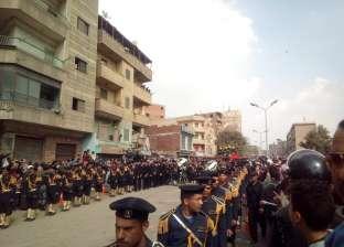 صور| قيادات الداخلية تتقدم جنازة «شهيد الدرب الأحمر»: الشهيد حبيب الله