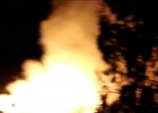 عاجل.. الدفع بـ5 سيارات إطفاء للسيطرة على حريق قش الأرز في الحامول