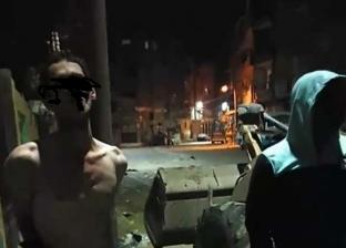 أهالي أوسيم يلقون القبض على حرامي «أنابيب».. ربطوه في الأنبوبة