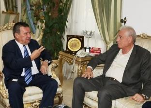 محافظ جنوب سيناء يستقبل سفير أوكرانيا لبحث سبل تنشيط السياحة