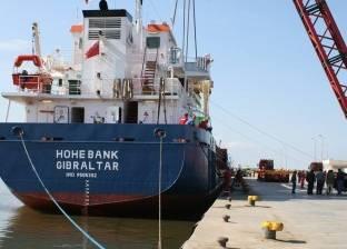 ميناء بورتوفيق يستقبل السفينة دودو على متنها 252 طن سيارات قادمة من جدة