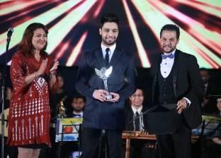 بالصور| تكريم أحمد جمال في افتتاح مهرجان شرم الشيخ للمسرح الشبابي