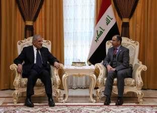 """""""محلب"""": مصر متمسكة بوحدة العراق ومستعدون للمساهمة في إعادة الإعمار"""