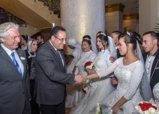 محافظ الإسكندرية يشهد حفل زفاف جماعي لـ100 عريس وعروس من الأيتام