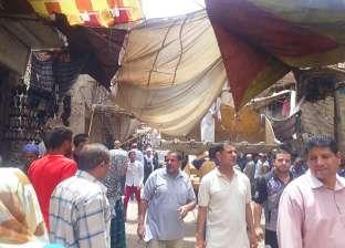حملات لإزالة التعديات من شوارع مدينة أبوتيج في أسيوط