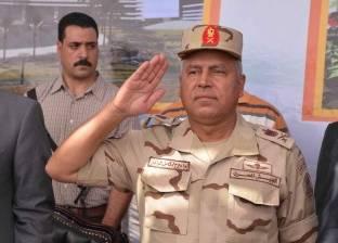 رئيس الهيئة الهندسية للقوات المسلحة يتفقد مشروع محور روض الفرج