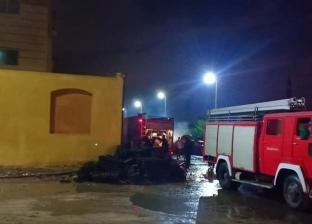 السيطرة على حريق مصنع مراتب دون خسائر بشرية في طوخ بالدقهلية