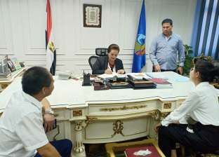 محافظة البحيرة تستقبل أعضاء مصنع العلف بحوش عيسى