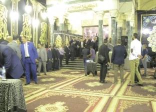 عزاء شقيق رئيس حزب الوفد