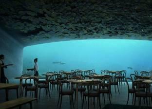 """أبرز 5 مطاعم عالمية تحت الماء.. أحدثها في أوروبا يقدم """"سلطة الجراد"""""""