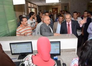 رئيس جامعة أسيوط يفاجئ معهد جنوب مصر للأوراملمتابعة سير العمل