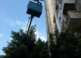 متابعة رفع مستوى الإضاءة بنطاق حي منتزه ثان في الإسكندرية