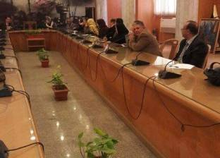 اجتماع لتفعيل بروتوكول التعاون بين دمياط والمجلس القومي للطفولة