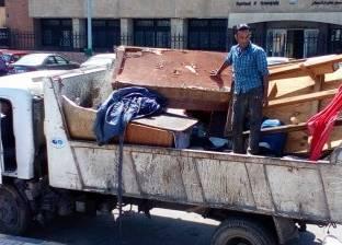 حملة لإزالة التعديات من نطاق قلعة قايتباي غرب الإسكندرية