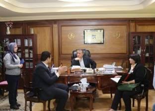 """محافظ كفرالشيخ يبحث مع وفد """"تحيا مصر"""" توزيع هدايا على الأسر المحتاجة"""