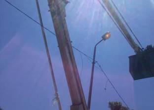 """""""الكهرباء"""": إضاءة الأعمدة نهارا مسؤولية المحليات"""