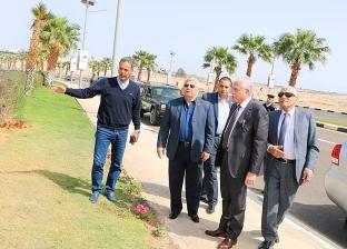 محافظ جنوب سيناء يتابع الاستعدادات النهائية لمضمار الهجن