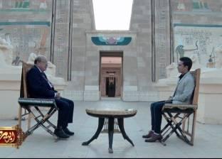"""غدا.. عالم المصريات وسيم السيسي ضيف """"ابن مصر"""" على  """"المحور"""""""