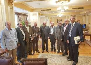 عمر مروان في حفل موظفي المعاش: علمتم الأجيال استكمال مسيرة البناء