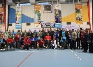 اختتام بطولة الجمهورية لتنس الطاولة لذوي الإعاقة في بني سويف