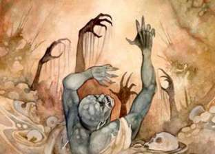 """مفاجأة.. """"أبو رجل مسلوخة"""" هو """"إله المسخرة"""" عند المصريين"""