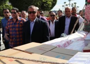 ضبط مدير مخزن لبيع السلع الغذائية مجهولة المصدر في الإسكندرية
