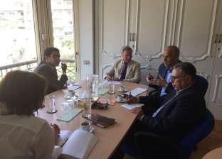 محافظ القليوبية يبحث مع الوكالة الألمانية دعم إنشاء محطة وسيطة في شبرا