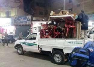 """""""أمن القاهرة"""": تنفيذ 200 قرار إزالة وتحرير 105 محاضر إشغال طريق"""