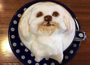 بالصور| قهوتك على شكل «كلب» و«أرنب» في هذا المقهى