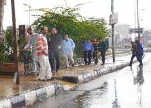 أمطار خفيفة على الدقهلية.. وبطء حركة السير بالطرق الزراعية