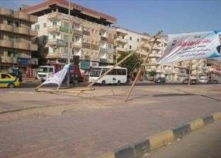 """""""الأرصاد"""" تحذر السائقين من السرعة الزائدة في شمال سيناء"""