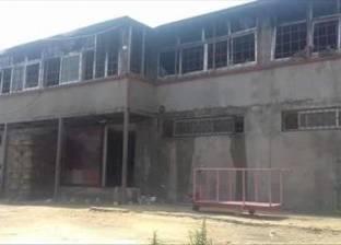 """إصابة 3 عمال باختناق وكدمات في حريق مصنع """"تريكو"""" بالبحيرة"""